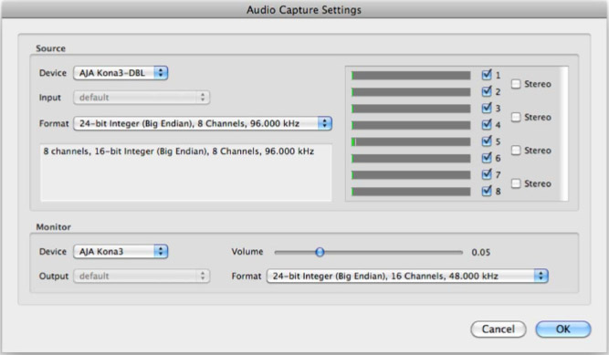 how to adjust audio in final cut pro 7