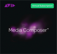 Avid Media Composer - Software Subscription (1 an)