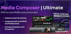 Avid Media Composer Ultimate - Software Subscription (3 ans)