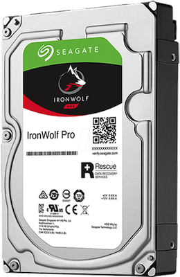 Seagate IronWolf Pro 4 To (idéal stockage NAS Professionnel)