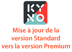 Kyno Standard to Premium upgrade for a perpetual license with updates for 1 year