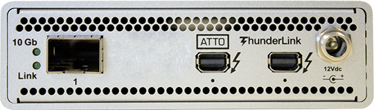 ATTO ThunderLink (TB2) 10 GbE (SFP+)